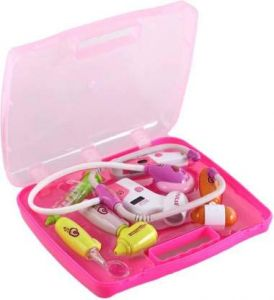 Battery Operated Toys - Family Doctor Set - 8 pcs Doctor's Kit - (Code DR001)
