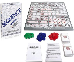 Board Games - Make A Sequence Board Game for Family and Adults - ( Code - SQ001 )