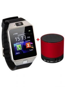 Vizio Z01 Sim Smart Watch With Camera And 32 GB Expandable Memory ) Bluetooth Speaker Free