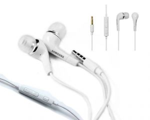 Mobile Handsfree - Samsung Handsfree Eo-hs3303we J5 Headsets / Earphones For Samsung Galaxy
