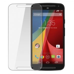 Motorola - Motorola Moto E 2.5d Curved Tempered Glass Screen Protector