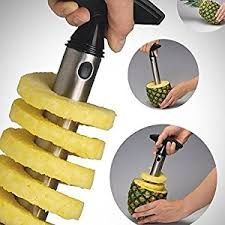 All Ware Stainless Steel Pineapple Easy Slicer And De-corer