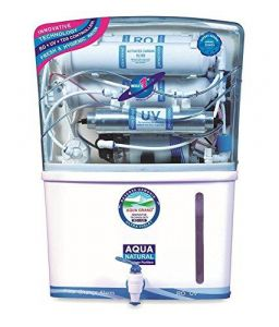 Luzon Dzire AQUAGRAND PLUS WATER PURIFIER RO UV UF TDS CONTROLLER WITH 12 LTRS STORAGE TANK
