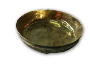 Beautiful Bronz Bhog Small Plate For Pooja / Kansa Plate