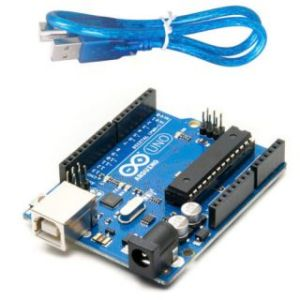Computer Parts - Arduino UNO R3 Compatible Board ATmega328P ATmega16U2 with USB cable
