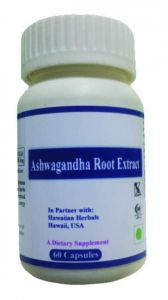 Hawaiian Herbal Ashwagandha Root Extract Capsule