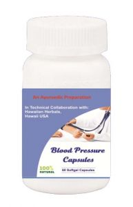 Hawaiian Herbal Blood Pressure Softgel Capsule 60 Softgels