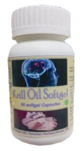Hawaiian Herbal Krill Oil Softgel