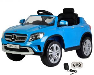 Wheel Power Baby Battery Operated Ride On Mercedes Blue Car - ( Code - Gla653-blue )