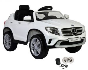 Wheel Power Baby Battery Operated Ride On Mercedes White Car - ( Code - Gla653-white )