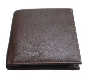 Wallets (Men's) - Pe Mens Pure Brown Pdm Leather Wallet