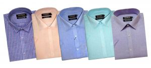 Tangy Pack Of 5 Half Regular Fit Shirts