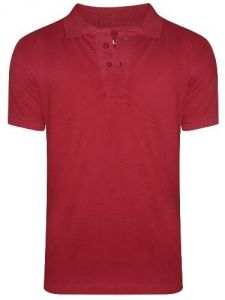 T Shirts (Men's) - Tangy Men's Red Polo T-Shirt - ( Code - red )