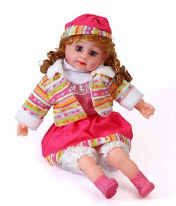 Beautiful Doll Wih Jacket For Girls