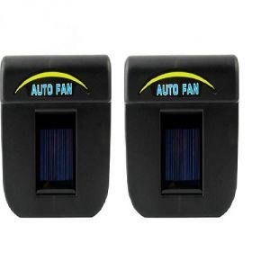 Vu4 Solar Powered Auto Ventilation Car Interior Fan  (0 V)