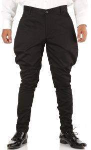 Trousers (Men's) - Breakthrough Trendy Jodhpur Breeches (Black)