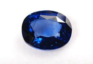 Ratna Gemstone 4.00 Carat Natural Certified Original Neelam (blue Sapphire) Gemstone