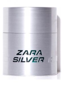 Zara SILVER For Men EAU DE TOILETTE 100 Ml / 3.37 Oz ( Unboxed )