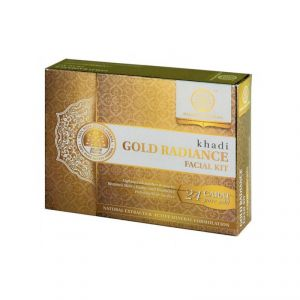 Khadi Natural Gold Radiance Facial Kit (code - 2000201510923646)