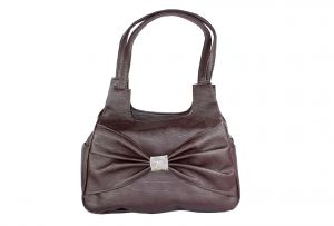 SPERO Women's Stylish Zip Lock Casual Dark Brown Handbag