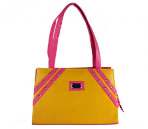SPERO Women's Stylish Zip Lock Casual Yellow Handbag (Code - 21 Hb)