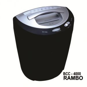 Bambalio 14 Sheets Cross Cut Credit Card/ CD/DVD/Paper Shredder (Low Noise) BCC-4000