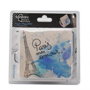 Sanitary Ware's Window Tet Tissue Paper Roll Holder - Paris Print