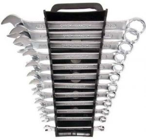 Shoppingekart Stainless Steel Double Sided Combination Wrench Set (12 PCS SET) - (Code -CS-12PCS)