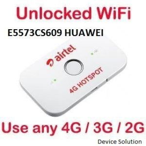 Airtel 4G Wifi Hotspot Unlocked Works With Any 2G/4G/4G Networks (Airtel,Vodafone,Idea, Bsnl & Docomo Supported).