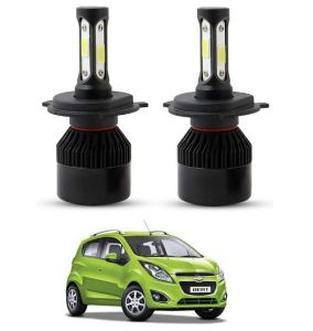 Trigcars Chevrolet Beat LED Headlight Nighteye Light Set Of 2