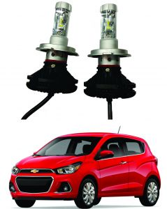 Car Accessories - Trigcars Chevrolet Spark Car Glass Led Head Light