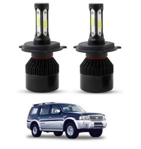 Led lights for cars - Trigcars Ford Endeavour Old LED Headlight Nighteye Light Set Of 2