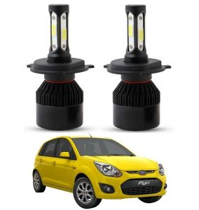 Led lights for cars - Trigcars Ford Figo Old LED Headlight Nighteye Light Set Of 2