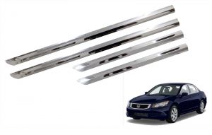 Car Accessories - Trigcars Honda Accord Old Car Steel Chrome Side Beading