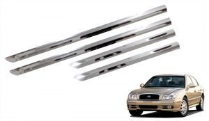 Side beading for cars - Trigcars Hyundai Sonata Old Car Steel Chrome Side Beading