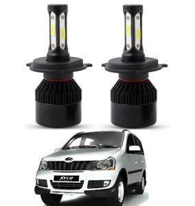 Trigcars Mahindra Xylo LED Headlight Nighteye Light Set Of 2