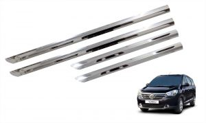 Trigcars Renault Lodgy Car Steel Chrome Side Beading