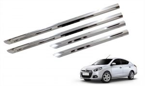 Trigcars Renault Scala Car Steel Chrome Side Beading