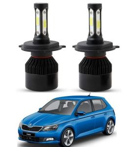 Trigcars Skoda Fabia LED Headlight Nighteye Light Set Of 2