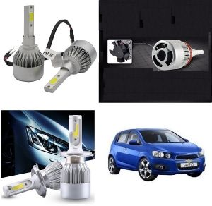 Trigcars Chevrolet Aveo Car LED Hid Head Light