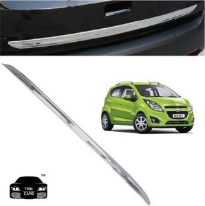 Car Accessories - Trigcars Chevrolet Beat Car Chrome Dicky Garnish