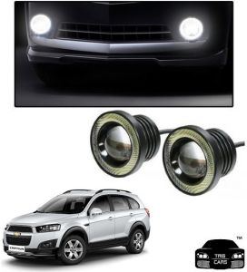 Fog lights - Trigcars Chevrolet Captiva Car High Power Fog Light With Angel Eye
