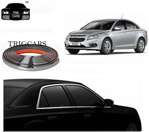 Chrome beading for cars - Trigcars Chevrolet Cruze Car Side Window Chrome Beading Moulding Roll   Car Bluetooth