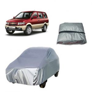 Body covers for cars - Trigcars Chevrolet Tavera Car Cover Silver