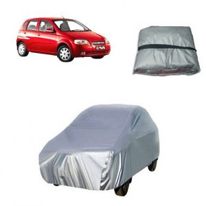 Body covers for cars - Trigcars Chevrolet UVA Car Cover Silver
