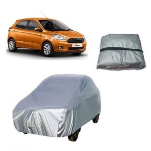 Car Accessories - Trigcars Ford Figo New Car Cover Silver