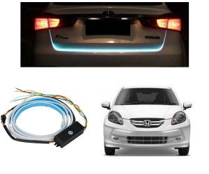 Trigcars Honda Amaze Old Car Dicky LED Light Car Bluetooth