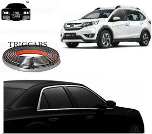 Chrome beading for cars - Trigcars Honda BR-V Car  Side Window Chrome Beading Moulding Roll   Car Bluetooth