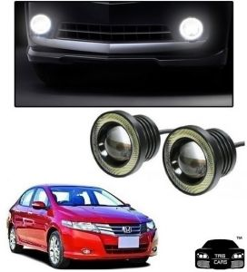 Trigcars Honda City Car High Power Fog Light With Angel Eye