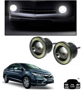 Trigcars Honda City New Car High Power Fog Light With Angel Eye